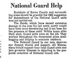 National Guard Help