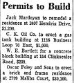Permits to Build