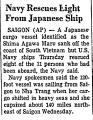 Navy Rescues Eight from Japanese...