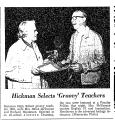 Hickman Selects 'Groovy' Teachers