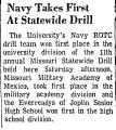 Navy Takes First at Statewide...