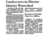 Landowners to Discuss District...