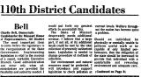 110th District Candidates