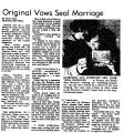 Original Vows Seal Marriage