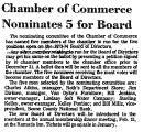 Chamber of Commerce Nominates 5...