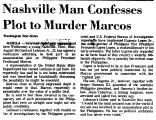Nashville Man Confesses Plot to...