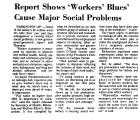 Report Shows 'Workers' Blue'...