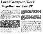 Local Groups to Work Together on...