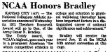 NCAA Honors Bradley