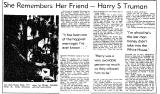 She Remembers Her Friend-Harry S...