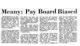 Meany: Pay Board Biased