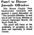 Panel to Discuss Juvenile...