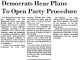 Democrats Hear Plans to Open...
