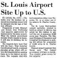 St. Louis Airport Site up to U. S.