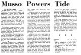 Musso Powers Tide