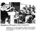 Stephens Prepares for Concert