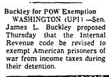 Buckley for Pow Exemption