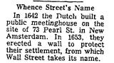 Whence Street's Name
