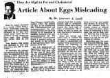 Article About Eggs Misleading