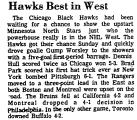 Hawks Best in West