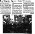 Ex-Tigers Spice Sour Season