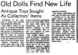 Old Dolls Find New Life