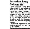 Salvation Army Collects $567