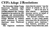 CYD's Adopt 2 Resolutions