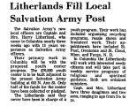Litherlands Fill Local Salvation...