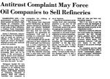 Antitrust Complaint May Force Oil...