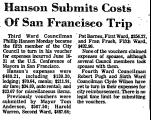 Hanson Submits Costs of San...