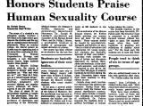 Honors Students Praise Human...