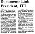 Documents Link President, ITT