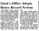 Clerk's Office Adopts Better...