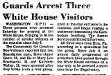 Guards Arrest Three White House...