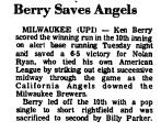 Berry Saves Angels