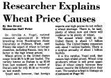 Researcher Explains Wheat Price...