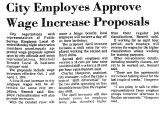 City Employes Approve Wage...