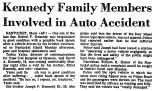 Kennedy Family Members Involved...