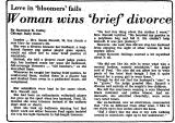 Love in 'Bloomers' Fails Woman...