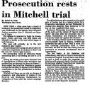 Prosecution Rests in Mitchell...