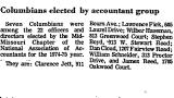Columbians Elected by Accountant...