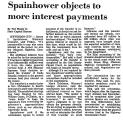 Spain Hower Objects to More...