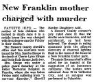 New Franklin Mother Charged with...