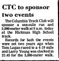 Ctc to Sponsor Two Events