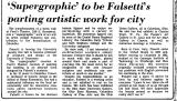 'Supergraphic' to be Falsetti's...