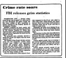Crime Rate Soars