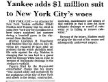 Yankee Adds $1 Million Suit to...
