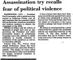 Assassination Try Recalls Fear of...