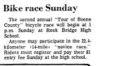 Bike Race Sunday